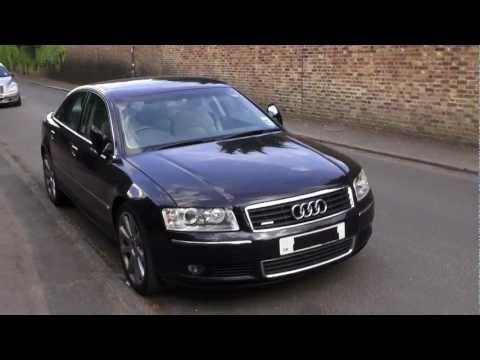 PART 1/3 2004 AUDI A8 3.0 TDi QUATTRO SPORT REVIEW. IN DEPTH TOUR. ENGINE. KEYLESS START UP