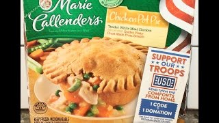 Marie Callender's: Chicken Pot Pie Review