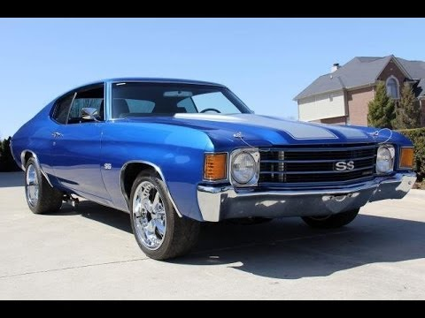 Brand New 1972 Chevrolet Chevelle With Silver Stripes
