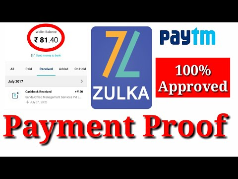Zulka App | Live Payment Proof | Win 50,000 in a week | Earn Unlimited Paytm Cash with proof [Hindi]