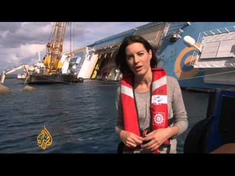 Costa Concordia salvage to begin next month and could take a year