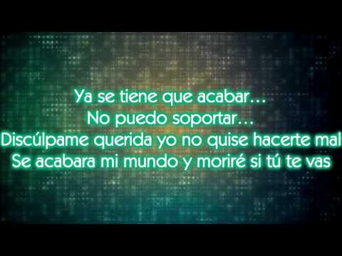 Se Tiene Que Acabar con letra - Kerem Santoyo ft Heber Mc