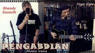 [Dangdut Rock Gitar Akustik] PENGABDIAN by Yoga Espe & RhenKosh