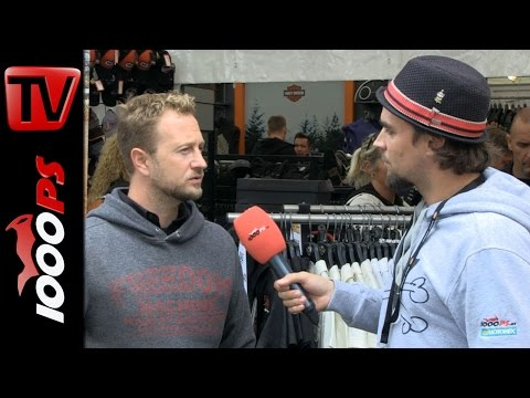 Harley Davidson Graz Clocktower Interview - EBW 2014