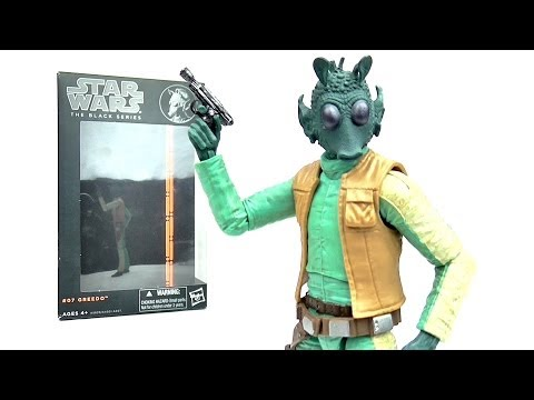 STAR WARS Black Series Greedo Figure Review | Votesaxon07