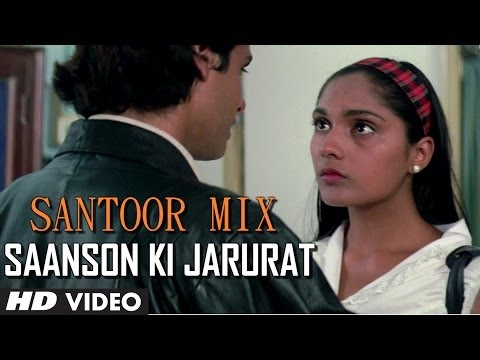 Aashiqui: Saanson Ki Jarurat Hai Jaise Song Instrumental (Santoor...