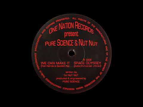 DJ Nut Nut & Pure Science - Space Odyssey (Technical Mix)