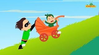 Superhero Finger Family Children Nursery Rhymes I Superheroes Twist Kindergarten Song