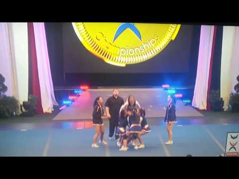 ICU 2014 TEAM PILIPINAS ALL - GIRL GROUP STUNTS