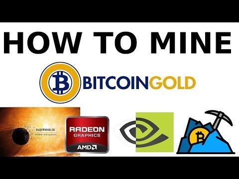 How To Mine Bitcoin Gold on Suprnova.cc & pool.gold Mining Pools BTCGPU