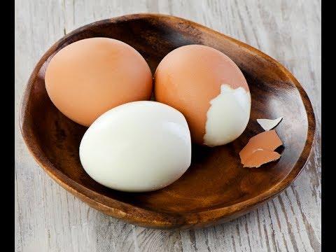 Яйца без скорлупы. Как сварить много яиц быстро и просто!
