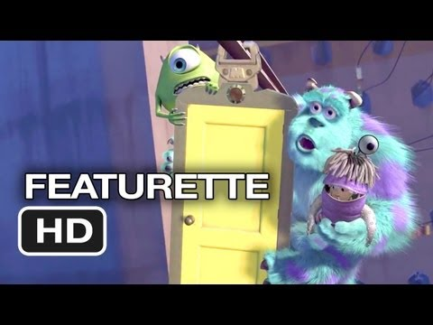 Monsters, Inc. 3D Featurette (2001) - Disney Pixar Movie HD