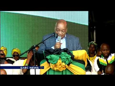 President Zuma unveils ANC Election Countdown Watch