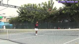 HLV Trương Quang Vũ hướng dẫn Chỉnh sửa động tác Tennis Phần 7