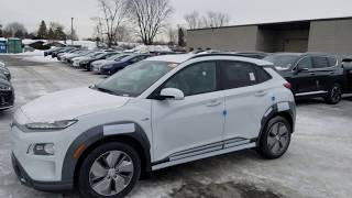 It's here !!!! the 2019 Kona EV Ultimate at Surgenor Hyundai, Ottawa