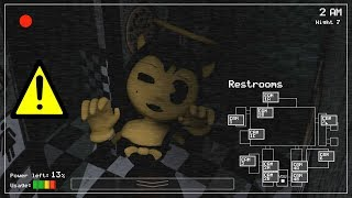 ALICE ANGEL JUMPSCARE IN FNAF?! (Bendy And The Ink Machine)