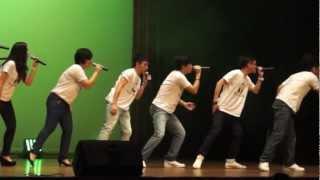 Australian Spring/七里香 Medley_Senza A Cappella 唱到《聲沙》演唱會 2012