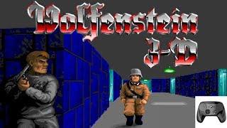 STEAM CONTROLLER: WOLFENSTEIN 3D