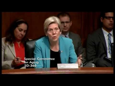 Senator Elizabeth Warren Social Security Goes Paperless Protecting Seniors from Fraud and Confusion