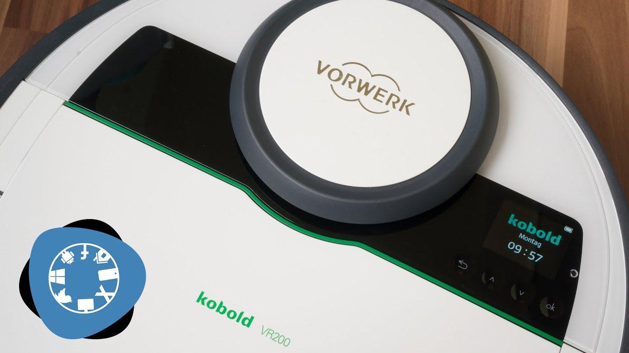 Saugroboter Vorwerk Kobold VR200 Demo  YouTube