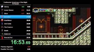 Castlevania: SotN All Bosses speedrun in 32:35
