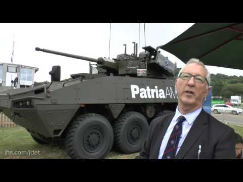 DVD 2016: Lockheed Martin Patria AMV and the Warrior Turret