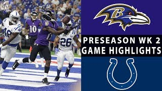 Ravens vs. Colts Highlights | NFL 2018 Preseason Week 2