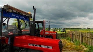 Obornik 2014 | 150 TON ! Ursus C-360 4x4 | Valtra T132 Versu | Wtopa | Engine Sound |THERolnicy