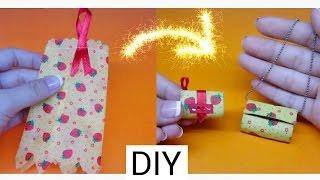 DIY How to make a Doll bag / Cách làm túi xách cho búp bê từ váy cũ / Ami DIY