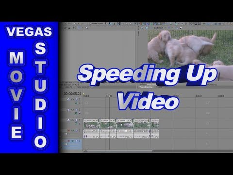How to Speed Up or Slow Down Video using Sony Vegas Movie Studio HD Platinum 10