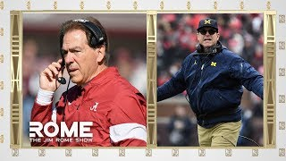 NIck Saban And Jim Harbaugh Are Having A Horrible Week | The Jim Rome Show