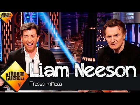 Liam Neeson en El Hormiguero 3.0: