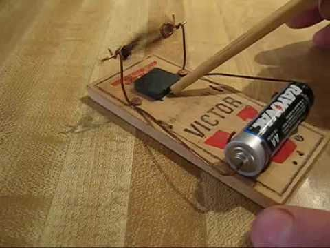 Mouse Trap Electric Motor,Free!