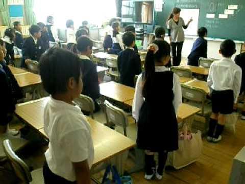 Menutup pelajaran sekolah di SD Yuzuki Jepang