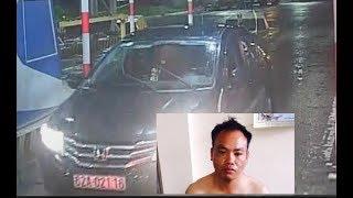 Tên trộm TQ vào ks chôm xe ô tô của nhà báo Việt ở Hậu Giang