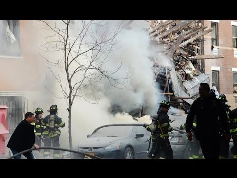 Gas Explosion Hits East Harlem New York 2