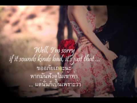 เพลงสากลแปลไทย Because I Love You  ♥  Shakin Stevens (lyrics & Thaisub) ♪♫♥ ♪ ♥ ♫ video