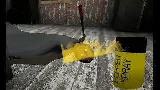 Granny new weapon|| New update|| Pepper Spray || version 1.6