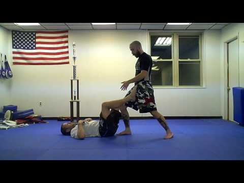 Self-taught techniques: Passing the open guard Image 1