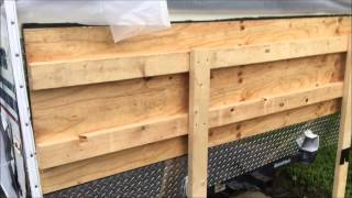RV rotted wood repair #10