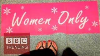 Women-only seats a good idea? - #BBCtrending