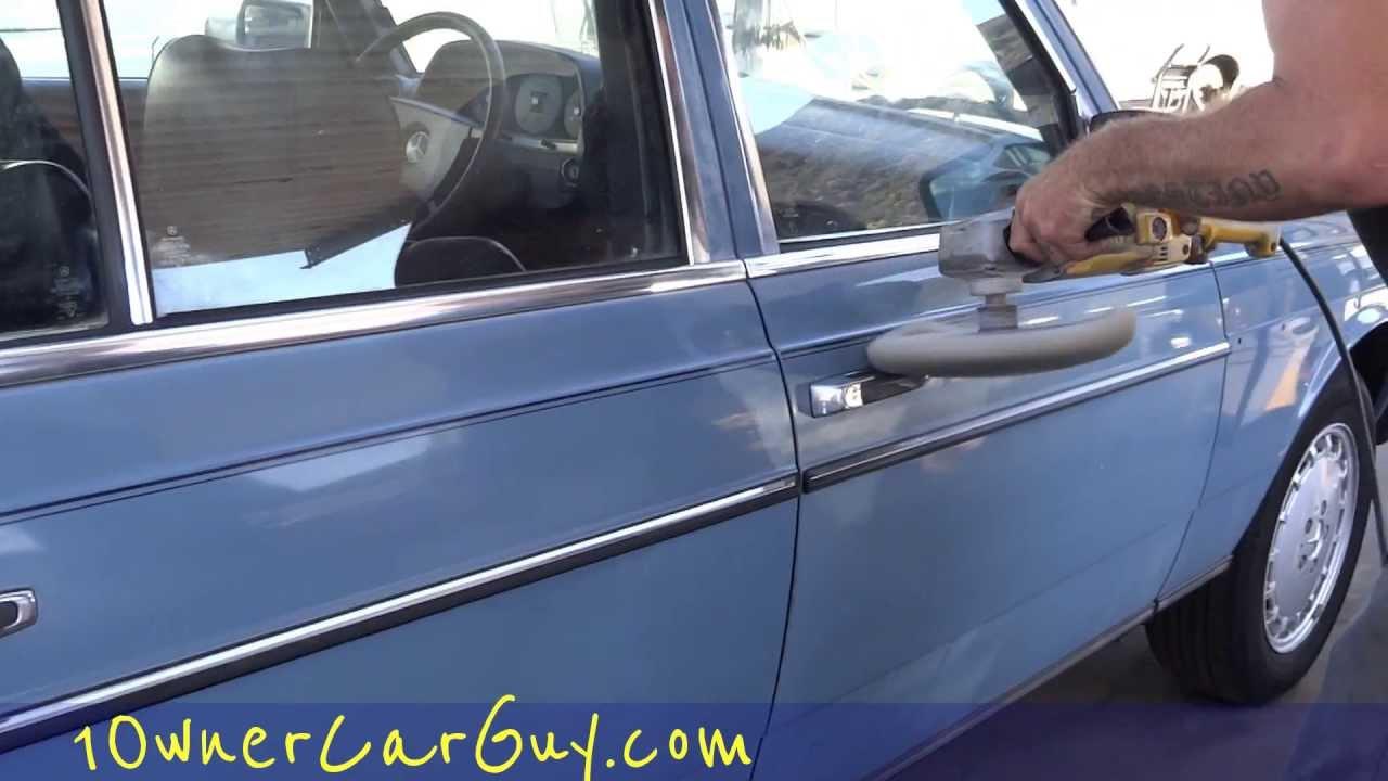 car buffing polishing diy auto detailing paint restoration restore cars detail video 5 youtube. Black Bedroom Furniture Sets. Home Design Ideas