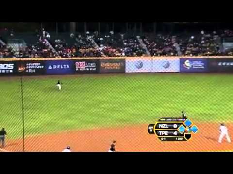 Chinese Tapei v New Zealand (9-0) - Baseball Highlights - World Baseball Classic [18/11/2012]