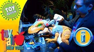 Imaginext Jurassic World Indoraptor & Jurassic Rex - New York Toy Fair 2018 SEO Toy Review