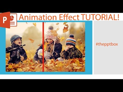 Sharpening the Blurred image using Wipe Animation Effect - Tutorial Powerpoint 2016