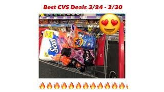 CVS Best Coupon Deals & Scenarios  For 3/24 - 3/30 - Smoking Hot Deal - Must Watch!!!