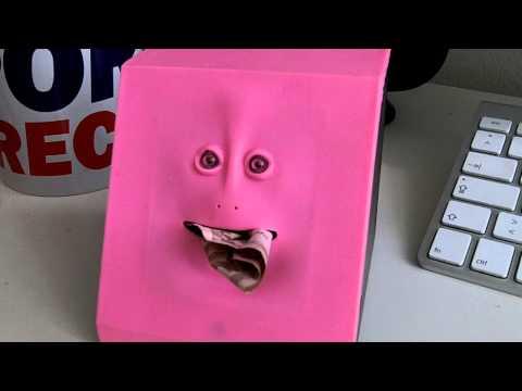 Facebank - Savings Box with face