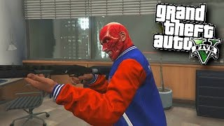GTA 5 Funny Moments #463 'SLASHER HALLOWEEN SPECIAL' with Vikkstar