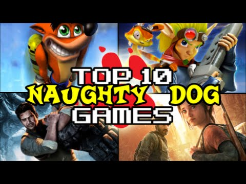Top 10 Naughty Dog Games