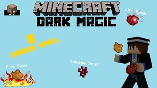 Minecraft | Dark Magic | 1.9 Command block Creation Showcase